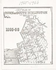 South Burlington Lotting Vermont Town VT State Archives