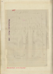 Cavendish Chester Lotting Vermont Town Whitelaw Plans Archive