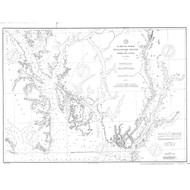 Revillagigedo Channel and Portland Canal 1891 Nautical Chart 200,000 Scale  Alaska Chart 8100