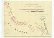 Lynn Canal and Stephens Passage 1919 10 Nautical Chart 200,000 Scale  Alaska Chart 8300
