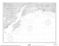 Icy Cape to Semidi Islands 4 1900 Nautical Chart 1,200,000 Scale  Alaska Chart 8500