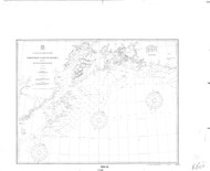 Icy Cape to Semidi Islands 5 1900 Nautical Chart 1,200,000 Scale  Alaska Chart 8500