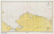 Arctic Coast 1947 Nautical Chart 1,587,870 Scale  Alaska Chart 9400