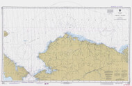 Arctic Coast 1978 Nautical Chart 1,587,870 Scale  Alaska Chart 9400