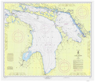 Lake Huron 1965 - Old Map Nautical Chart Reprint LS5