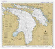 Lake Huron 1984 - Old Map Nautical Chart Reprint LS5