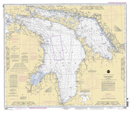 Lake Huron 2005 - Old Map Nautical Chart Reprint LS5