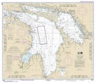 Lake Huron 2016 - Old Map Nautical Chart Reprint LS5