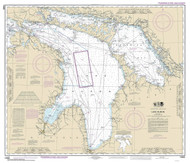 Lake Huron 2016 - Old Map Nautical Chart Reprint LS5