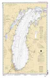 Lake Michigan 2006 - Old Map Nautical Chart Reprint LS7