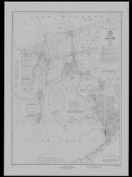 Lake Erie - North and Northwestern Lakes 1973 Lake Erie Harbor Chart Reprint 31