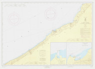 Lake Erie - Sturgeon Pt. to Twenty Mile Creek 1965 Lake Erie Harbor Chart Reprint 32
