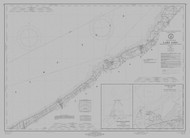 Lake Erie - Sturgeon Pt. to Twenty Mile Creek 1971 Lake Erie Harbor Chart Reprint 32