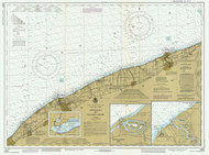 Lake Erie - Ashtabula to Chagrin River 1985 Lake Erie Harbor Chart Reprint 34