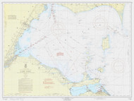 West End 1960 Lake Erie Harbor Chart Reprint 39