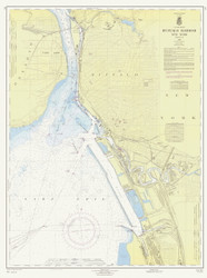 Buffalo Harbor 1965 Lake Erie Harbor Chart Reprint 314