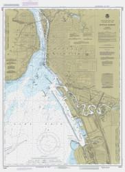 Buffalo Harbor 1985 Lake Erie Harbor Chart Reprint 314