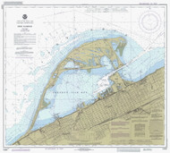 Erie Harbor 1985 Lake Erie Harbor Chart Reprint 332