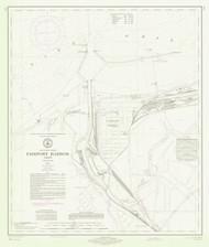 Fairport Harbor 1971 Lake Erie Harbor Chart Reprint 346