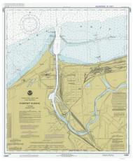 Fairport Harbor 1983 Lake Erie Harbor Chart Reprint 346