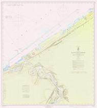 Cleveland Harbor 1965 Lake Erie Harbor Chart Reprint 354