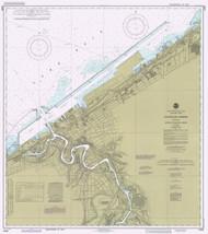 Cleveland Harbor 1985 Lake Erie Harbor Chart Reprint 354