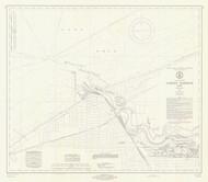 Huron Harbor 1971 Lake Erie Harbor Chart Reprint 357