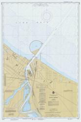 Huron Harbor 1980 Lake Erie Harbor Chart Reprint 363