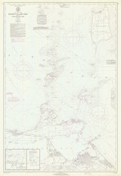 Islands in Lake Erie 1971 Lake Erie Harbor Chart Reprint 364