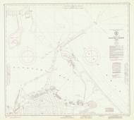 Sandusky Harbor 1973 Lake Erie Harbor Chart Reprint 365