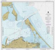 Sandusky Harbor 1985 Lake Erie Harbor Chart Reprint 365
