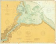 Toledo Harbor 1906 Lake Erie Harbor Chart Reprint 374