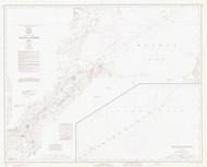 Toledo Harbor 1973 Lake Erie Harbor Chart Reprint 374