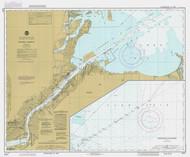 Toledo Harbor 1985 Lake Erie Harbor Chart Reprint 374