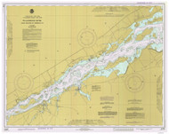 Croil Islands to Leishman Point 1977 St Lawrence River Nautical Chart Reprint 12b NY/Ontario