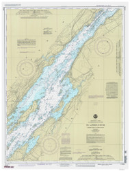 Holmes Point to Deer Island 1993 St Lawrence River Nautical Chart Reprint 15 NY/Ontario