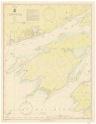 Cape Vincent to Allan Otty Shoal 1938 St Lawrence River Nautical Chart Reprint 18 NY/Ontario
