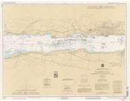 Morristown to Butternut Bay 1992 St Lawrence River Nautical Chart Reprint 113 NY/Ontario