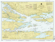 Ironsides Island to Bingham Island 1993 St Lawrence River Nautical Chart Reprint 115 NY/Ontario