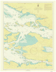 Gananoque to St. Lawrence Park 1946 St Lawrence River Nautical Chart Reprint 116 NY/Ontario