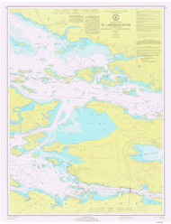 Gananoque to St. Lawrence Park 1971 St Lawrence River Nautical Chart Reprint 116 NY/Ontario