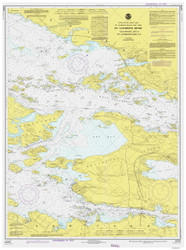 Gananoque to St. Lawrence Park 1978 St Lawrence River Nautical Chart Reprint 116 NY/Ontario