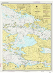Gananoque to St. Lawrence Park 1986 St Lawrence River Nautical Chart Reprint 116 NY/Ontario