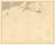 Nantucket Shoals to Montauk Point 1896 Nautical Map unknown sc Reprint BA 51