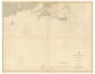 Nantucket Shoals to Montauk Point 1912 Nautical Map unknown sc Reprint BA 51
