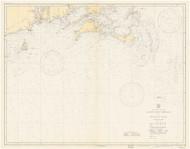 Nantucket Shoals to Montauk Point 1934 Nautical Map unknown sc Reprint BA 51