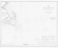 Cape Ann to Gay Head 1880 (copy a) AC Nautical - 1:400,000 Chart 7