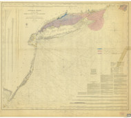 Gay Head to Cape Henlopen 1852 AC Nautical - 1:400,000 Chart 8