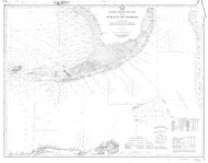 Straits of Florida 1905 AC Nautical - 1:400,000 Chart 15