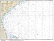 Cape Hatteras to Straits of Florida 2014 Old Map Nautical Chart 1:1,200,000 sc Reprint 1001